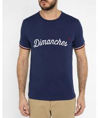 COMMUNE DE PARIS Blaues T-Shirt Dimanches 04