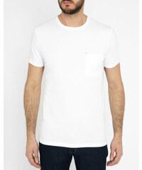 COMMUNE DE PARIS Weißes T-Shirt Vive Cdp mit Tasche