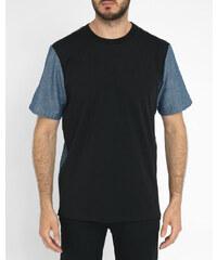 PAUL SMITH PS Tunika-T-Shirt Denim Stone Washed
