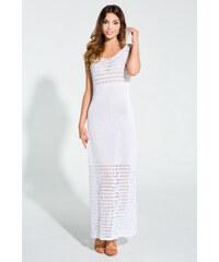 Bílé šaty Fobya F311