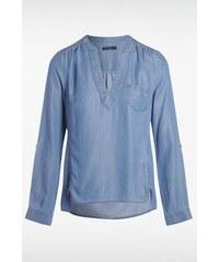 Chemise femme denim Bleu Tencel - Femme Taille L - Bonobo