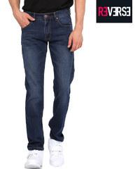 Re-Verse Regular Fit-Jeans mit Dark Stone-Waschung - W31-L32