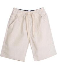 Lesara Kinder-Shorts mit Kordelzug - Beige - 98