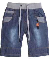Lesara Kinder-Jeansshorts mit Stickerei - 98