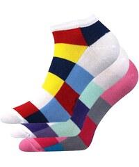 VOXX 3pack ponožek Piki Mix 36 barevná 39-42