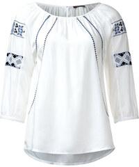 Street One Ethno-Style Bluse Ellena - weiß, Damen