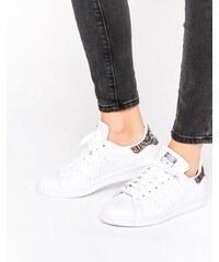 Adidas Originals X Farm - Stan Smith - Baskets à détail motif au crochet - Blanc - Blanc