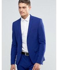 Selected Homme - Veste de costume super cintrée - Bleu