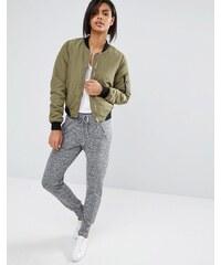 Vero Moda Grey Marl track pants - Gris