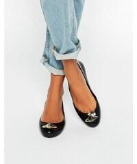 Vivienne Westwood for Melissa - Space Love - Chaussures plates motif orbe - Noir - Noir
