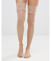 Wolford - Bas auto-fixant effet satin 20 deniers - Beige