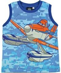 Disney Chlapecké tílko Letadla - modro - oranžové