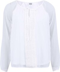 Bílá halenka s dlouhými rukávy Vero Moda Marianna