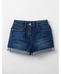 Taillenhohe Shorts Vintage Denim Mädchen Boden