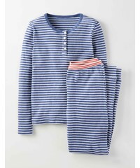 Henleyshirt-Set Navy Mädchen Boden