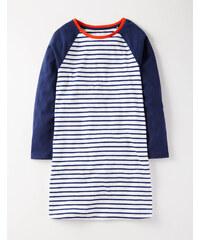 Baseball-Nachthemd Navy Mädchen Boden