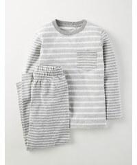 Pyjamaset mit Mustermix Grau Jungen Boden
