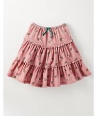 Schwingender Rüschenrock Pink Mädchen Boden