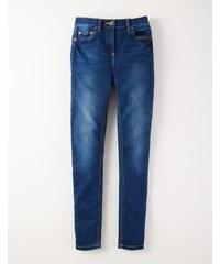 Superstretch-Jeans mit mittelhoher Taille Vintage Denim Mädchen Boden