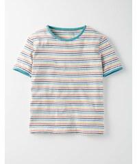 T-Shirt mit Retrostreifen Bunt Mädchen Boden