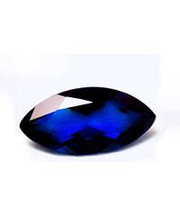 Safír tmavě modrý dr614