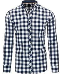 Jedinečná kostkovaná pánská košile