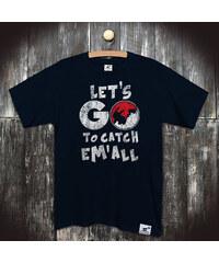 PANDEMIC Pánské seriálové tričko Pokemon: Catch em'all