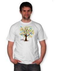 PANDEMIC Pánské tričko s potiskem Jaro: Jarní píseň