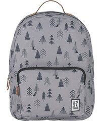 Batoh The Pack Society classic backpack grey tree allover