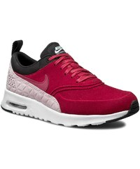 Boty NIKE - W Nike Air Max Thea Prm Lth 845062 600 Noble Red/Noble Red/Black