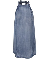 Modré džínové šaty Vero Moda Tess
