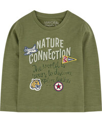 Mayoral T-Shirt mit Motiv aus geflammtem Jersey