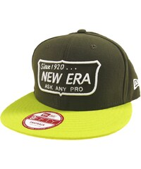 Kšiltovka New Era Ask Any Pro 950 olive/cyb S/M
