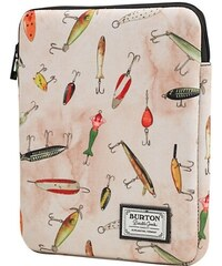 Obal Burton Tablet Sleeve fishing lures print