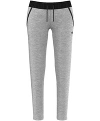 Tepláky Adidas Slim FT TP medium grey heather 30