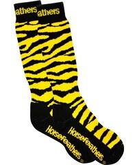 Podkolénky Horsefeathers Animal yellow 7-8