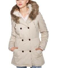 Kabát Moodo Z-KU-1603 beige XL