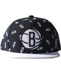 Kšiltovka Adidas NBA Snap-Back Superstar Brooklyn Nets black-white univerzální velikost