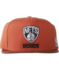Kšiltovka Adidas NBA Basketball Brim Brooklyn Nets surf red univerzální velikost