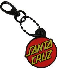 Klíčenka Santa Cruz Classic Dot Fob red