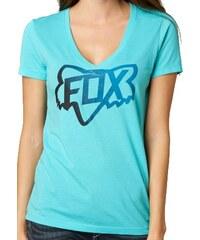 Tričko Fox Changing Vneck blue atoll M