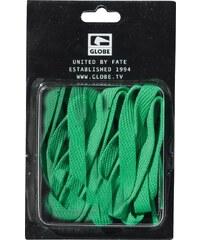Tkaničky Globe Flat lace green