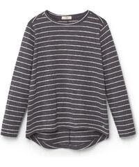 MANGO KIDS T-Shirt Bicolore À Rayures