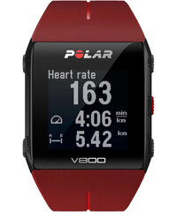 Polar GPS-Multisportuhr V800 Red HR Special Edition Bundle