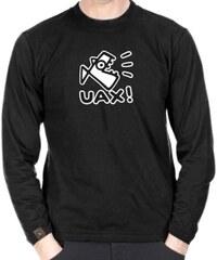 Tričko Uax Skrat + Logo Uax! black M