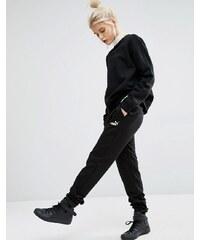 Puma - Pantalon de survêtement avec logo classique - Noir