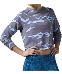 Tričko Reebok Yoga Camo Cover Up zee blue M