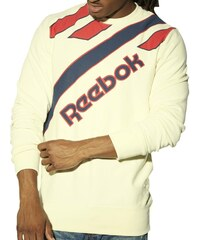 Mikina Reebok CC Retro Crewneck cream white M
