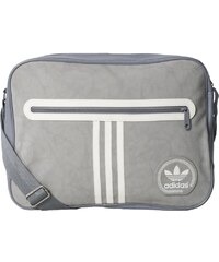 Taška Adidas Airliner Suede grey-light granite-core white
