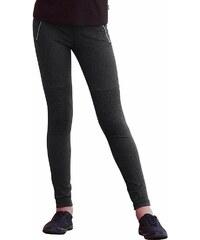 Arizona Stretchhose mit Knieeinsätzen und Reißverschlussapplikation, für Mädchen